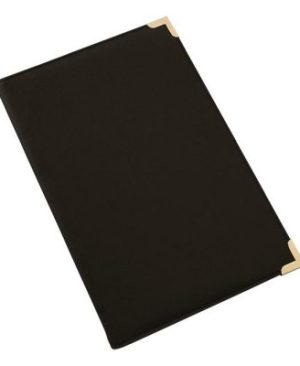 A4 Folder with Metallic Corners