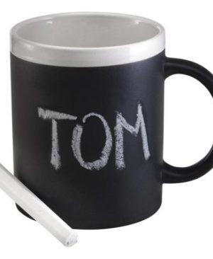 300ml Stoneware Chalk Board Mug
