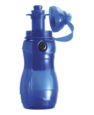 400ml Water Bottle with Freezer Stick and Compass
