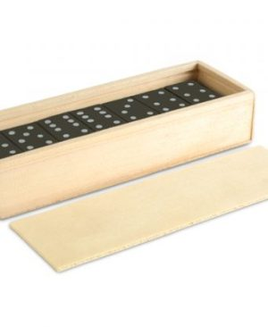 Dominoes In A Box - Avail in: Natural