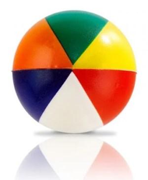 Beach Ball Stress Ball - Avail in: Multi