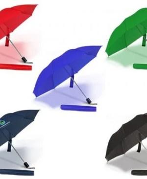 Essentials Compact Umbrella - Avail in: Black