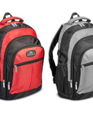 Leisure Backpack - Avail in: Red / Black