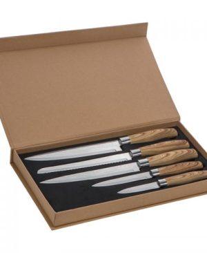 5-piece Chef knife set