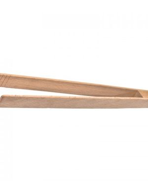 Wooden grill/salad tongs