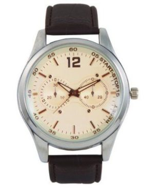 Oxford Analogue Wrist Watch - Black Strap