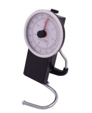 Analogue Luggage Scale & Tape Measure