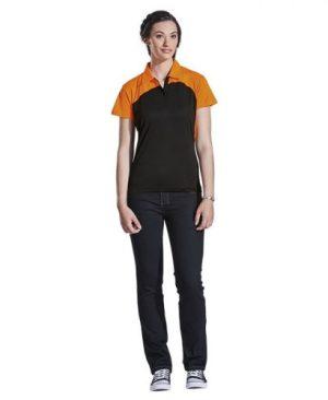 Ladies Torpedo Golfer - Avail in: Black/Lime