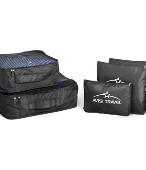 Pack-it Luggage Set - Black