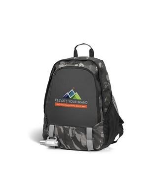 Huntington Tech Backpack - Grey Camo