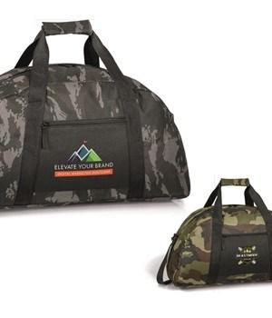 Huntington Sports Bag - Green Camo or Grey Camo
