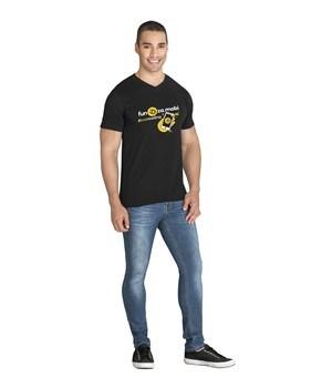 Mens Super Club 165 V-Neck T-Shirt