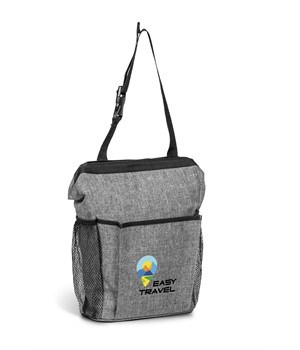 Greyston Backseat Leakproof Vehicle Trash Holder - Grey