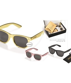 Malibu Sunglasses - Gold
