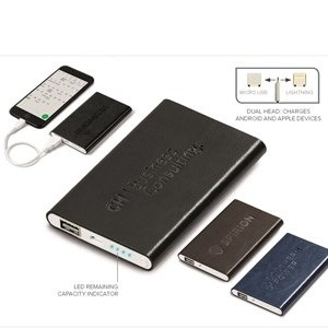 Renaissance Slim 4000mAh Power Bank - Black