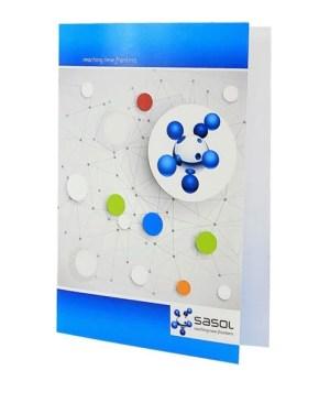 Odra A4 Cardboard  Folder with ful col