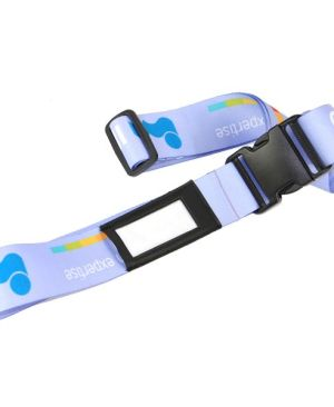 Name It Luggage Strap - Can take a full colour print