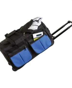 Rolling Duffel With Coloured Front Pockets