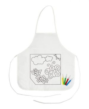 Kids Colouring In Apron