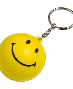 Smile Stress Ball Keychain
