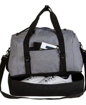 Melange Double Decker Duffel Bag