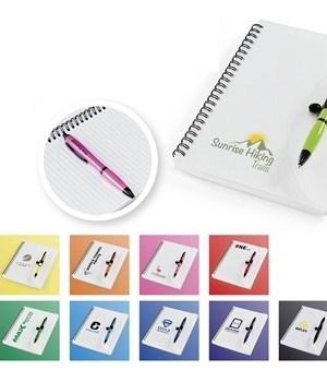 Vistro A5 Notebook & Pen
