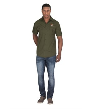 Mens Short Sleeve Oryx Bush Shirt