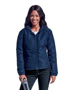 Barron Ladies Cooper Jacket - Avail in: Black/Silver or Navy/Silver