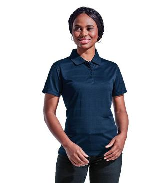 Barron Ladies Ripple Golfer - Avail in: Black