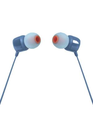 JBL In Ear Headphone And Mic T110 - Avail in: Black