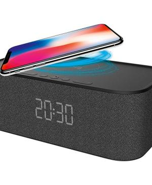Snug Bluetooth Speaker And Wireless Charger - Avail in: Black