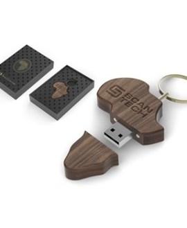 Afrique Memory Stick - 16GB - Wood