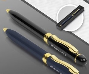 Alex Varga Lyra Pen - Avail in: Black or Navy