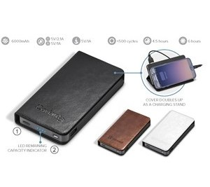 Spector Executive 6000Mah Power Bank - Avail in: lack
