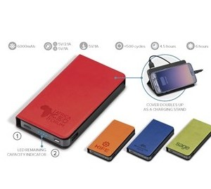 Spector Brite 6000Mah Power Bank - Avail in: Blue