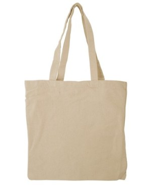Cotton Tote Bag - Avail in Black or Cream