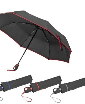 Large pop-up umbrella - Automatic open and close. 190T pongee and fibre-glass material.