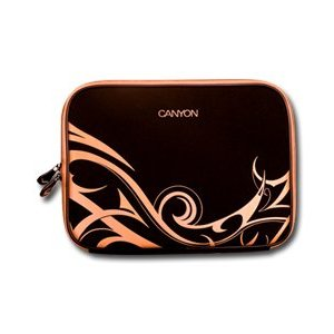 Canyon Notebook Sleeve 10′ Tribal design – Black and Orange – 2 6a576efaa5