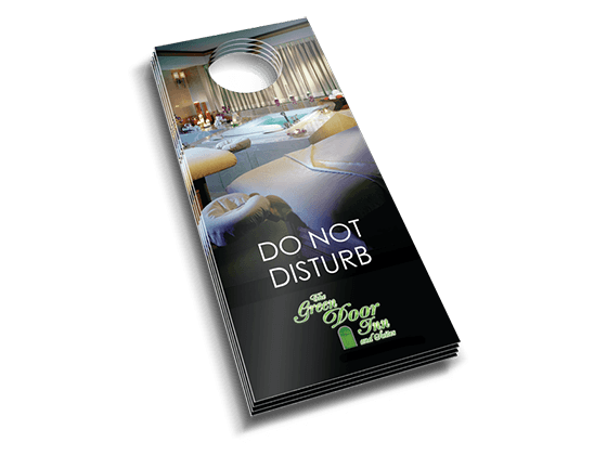 Door Hangers Custom Door Hangers Door Hanger Printing Pgprint