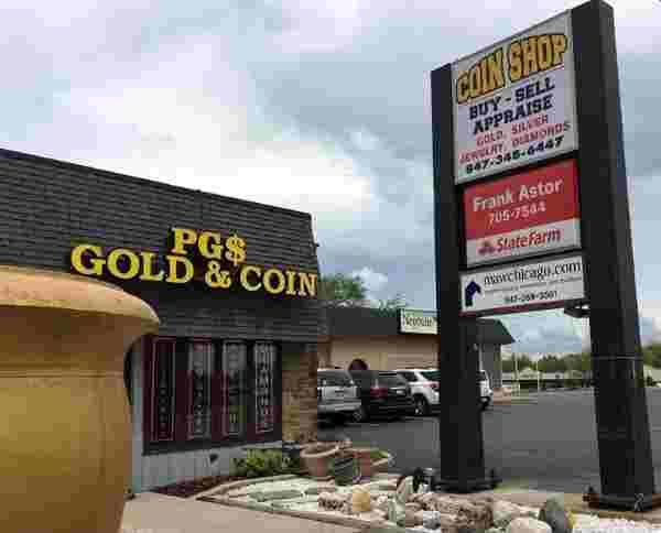Gold coin buyers in Villa Park