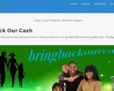 BRINGBACKOURCASH.com Login Account – BRING BACK OUR CASH ponzi paying schme