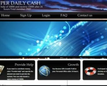 Superdailycash.com - Paying Ponzi schem Login Account – Super Daily Cash, Register
