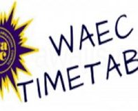 WAEC GCE Timetable 2018 Nov/Dec