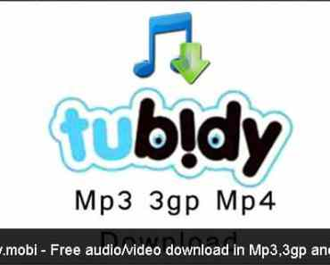 Tubidy.mobi – Free MP3 Audio/video Download Platform