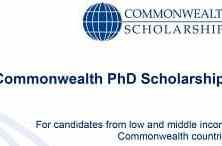 Commonwealth PhD Scholarships 2019 | UK Commonwealth Apply