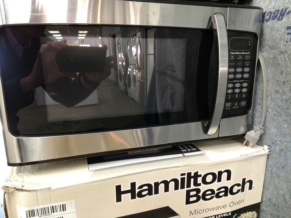 hamilton beach microwaves pg used