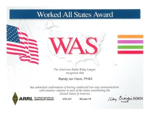 Worked All States