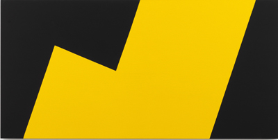 Carmen Herrera, Yellow and Black