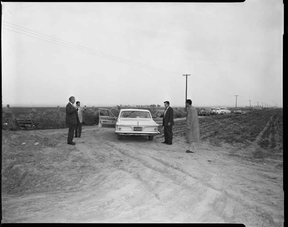 Onion field reenactment, 1963 © LAPD, Image courtesy of Fototeka