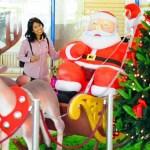 Ausgesprochen süß fand die holde Gattin diesen Weihnachtsmann im Carrefour zu Pattaya im Januar 2007.